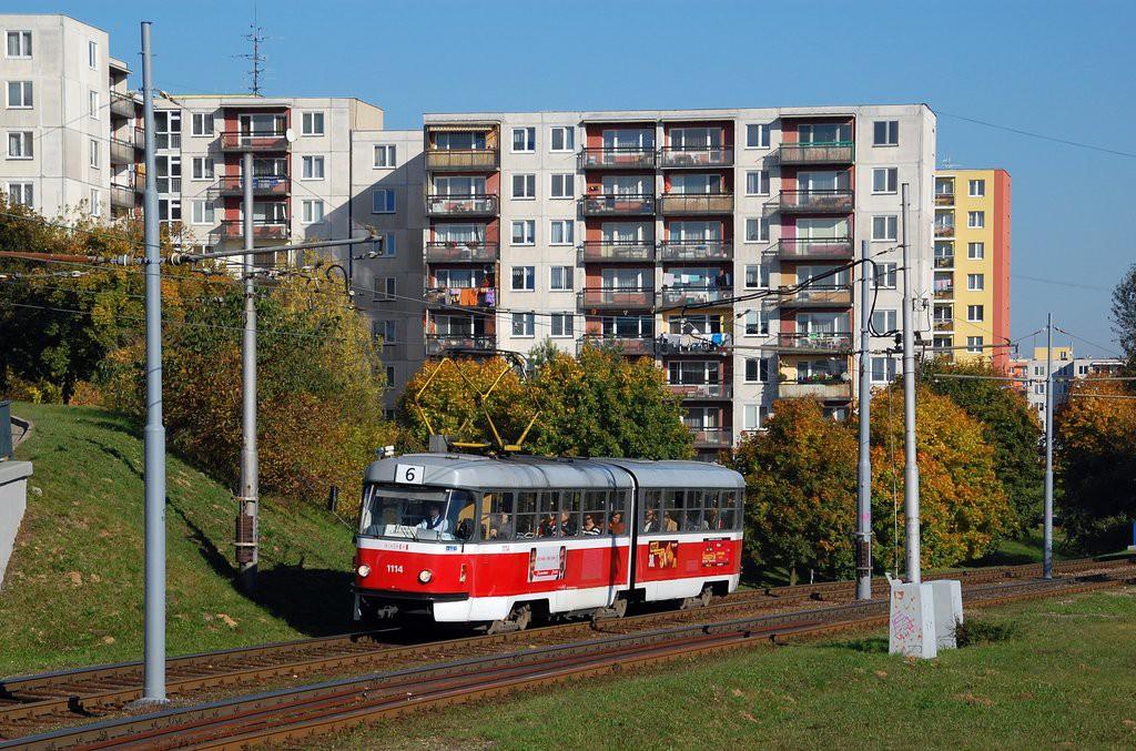 Fotogalerie » ČKD Tatra K2 1114   Brno   Bohunice
