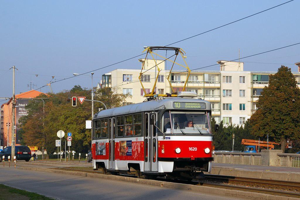 Fotogalerie » ČKD Tatra T3P 1620 | Brno | Štýřice | Renneská