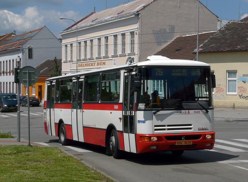 Fotogalerie » Karosa B931E.1707 BSH 16-31 7469 | Brno | Juliánov | Bělohorská