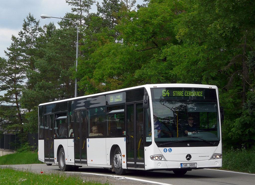 Fotogalerie » Mercedes-Benz Conecto 12M 1AR 9885 2713 | Brno | Židenice | Kulkova