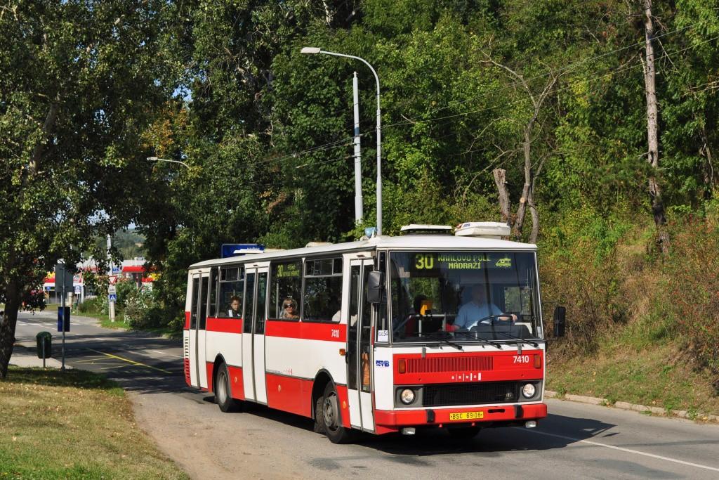 Fotogalerie » Karosa B731.1669 BSC 69-08 7410 | Brno | Komín | Kníničská | Kamenolom
