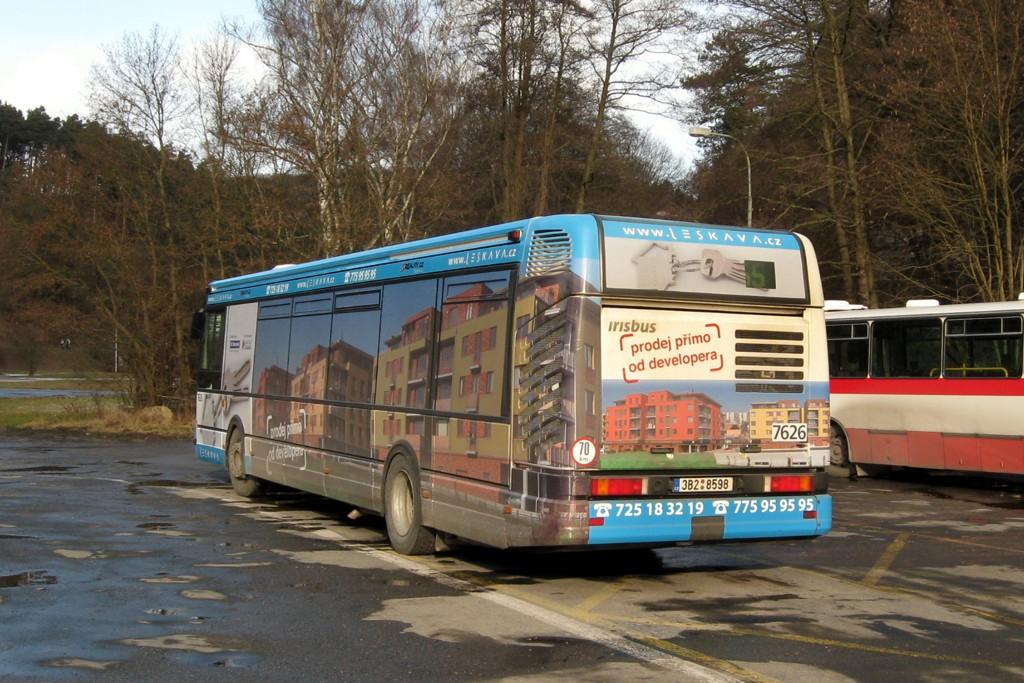 Fotogalerie » Irisbus Citybus 12M 2071.40 3B2 8598 7626 | Brno | Líšeň | Mariánské údolí