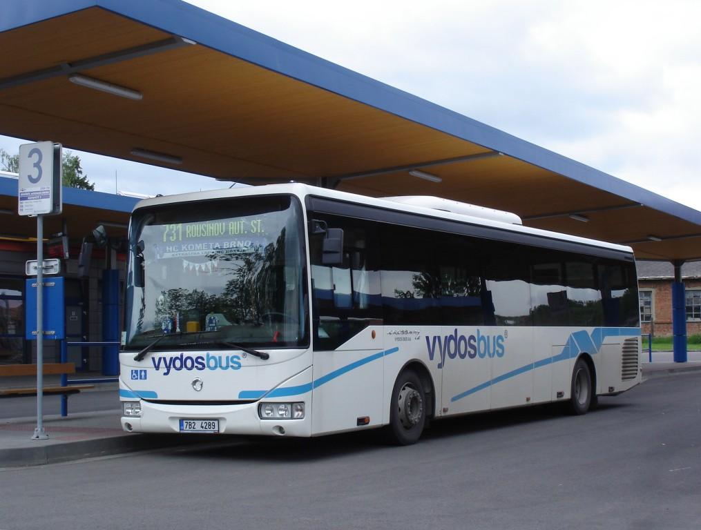 Fotogalerie » Irisbus Crossway LE 12M 7B2 4289   Rousínov   autobusová stanice