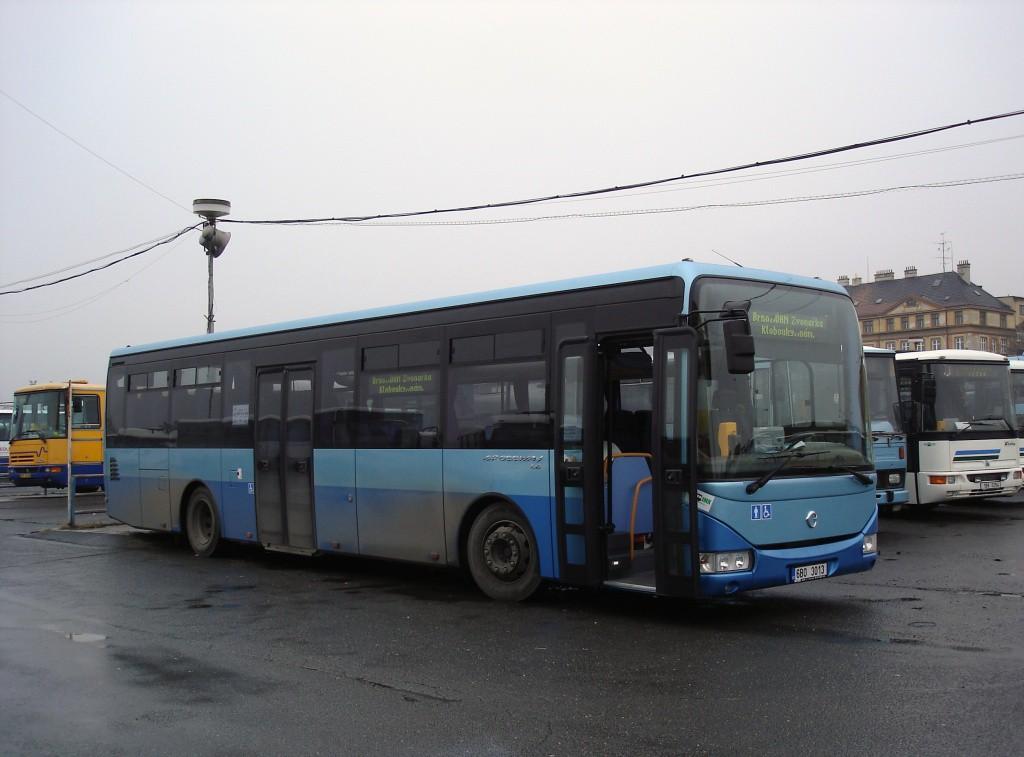 Fotogalerie » Irisbus Crossway LE 12M 6B0 3013 | Brno | Trnitá | ÚAN Zvonařka