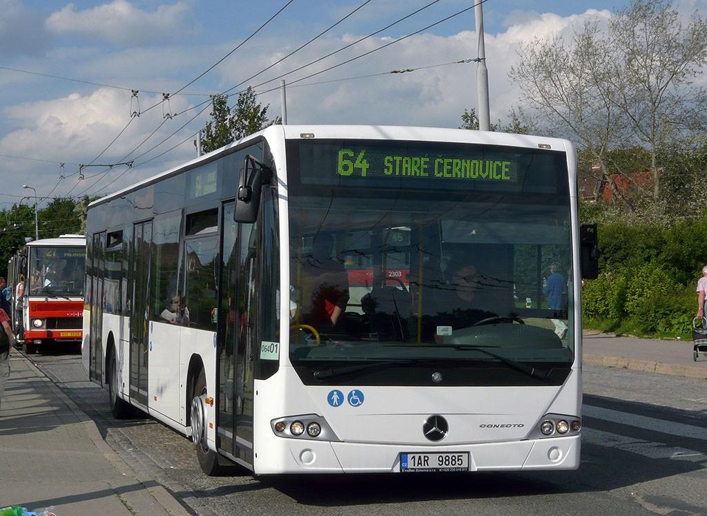 Fotogalerie » Mercedes-Benz Conecto 12M 1AR 9885 2713 | Brno | Židenice | Stará Osada
