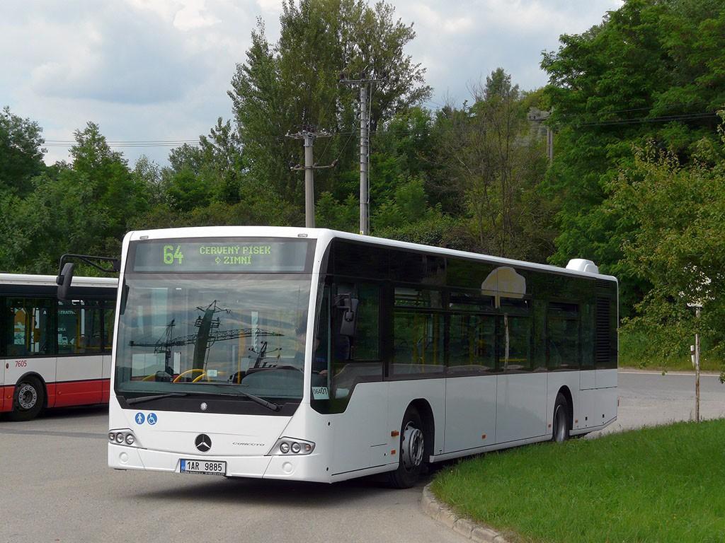 Fotogalerie » Mercedes-Benz Conecto 12M 1AR 9885 2713 | Brno | Černovice | Vinohradská | Staré Černovice
