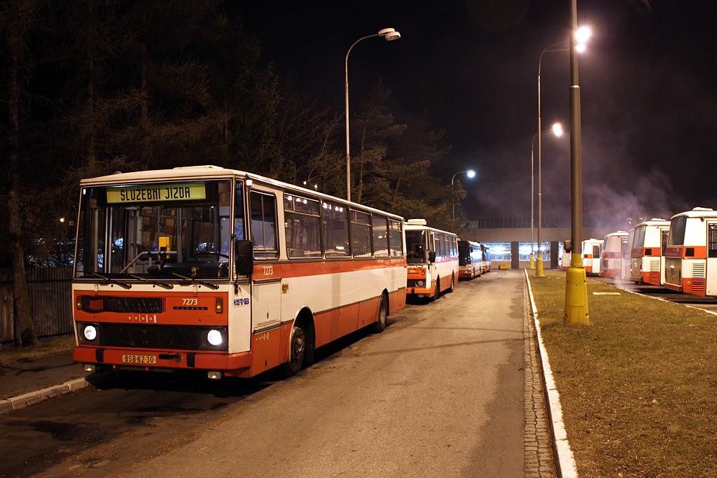 Fotogalerie » Karosa B732.40 BSB 62-30 7273 | Brno | Slatina | Hviezdoslavova | Vozovna Slatina