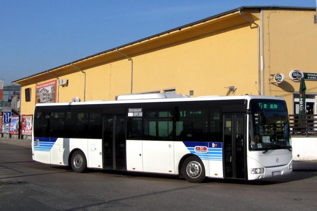 Fotogalerie » Irisbus Crossway LE 12M 8B1 2006 | Brno | Trnitá | Trnitá | Autobusové nádraží Zvonařka