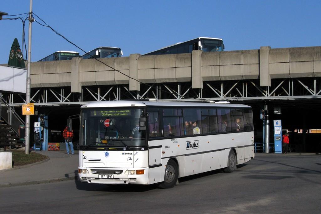 Fotogalerie » Karosa C954E.1360 2B7 5801 | Brno | Trnitá | Trnitá | Autobusové nádraží Zvonařka