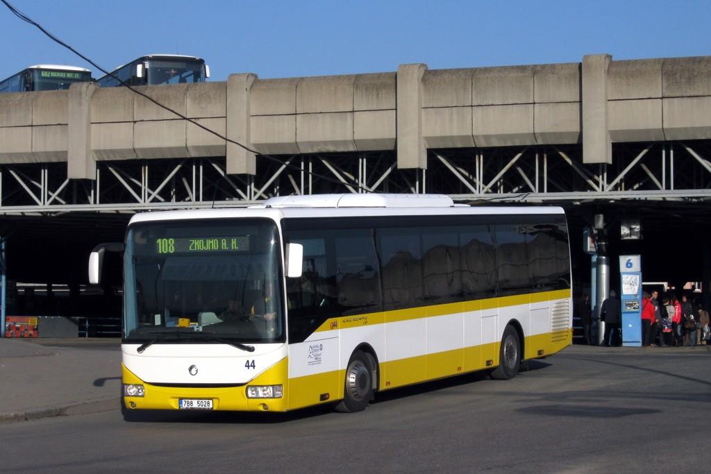 Fotogalerie » Irisbus Crossway LE 12M 7B8 5028 44 | Brno | Trnitá | Trnitá | Autobusové nádraží Zvonařka