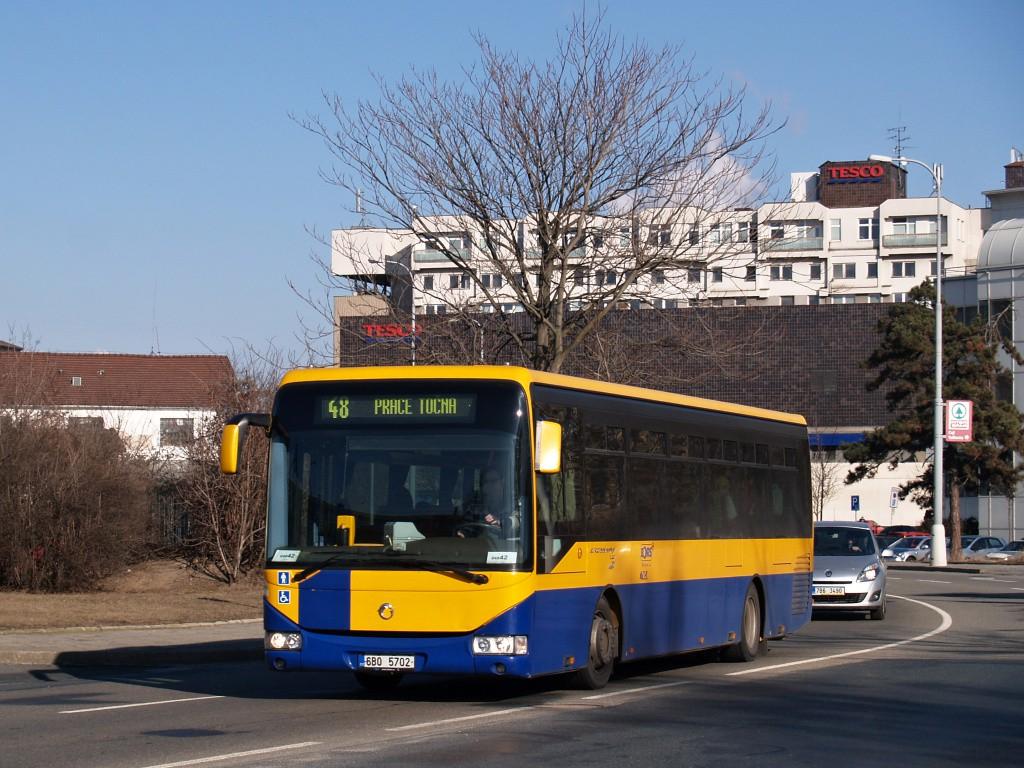 Fotogalerie » Irisbus Crossway LE 12M 6B0 5702 | Brno | Trnitá | Uhelná