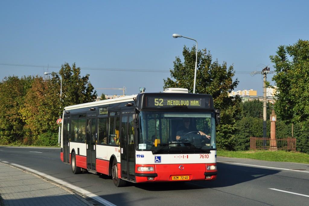 Fotogalerie » Irisbus Citybus 12M 2071.20 BZM 72-40 7610   Brno   Žebětín   Hostislavova