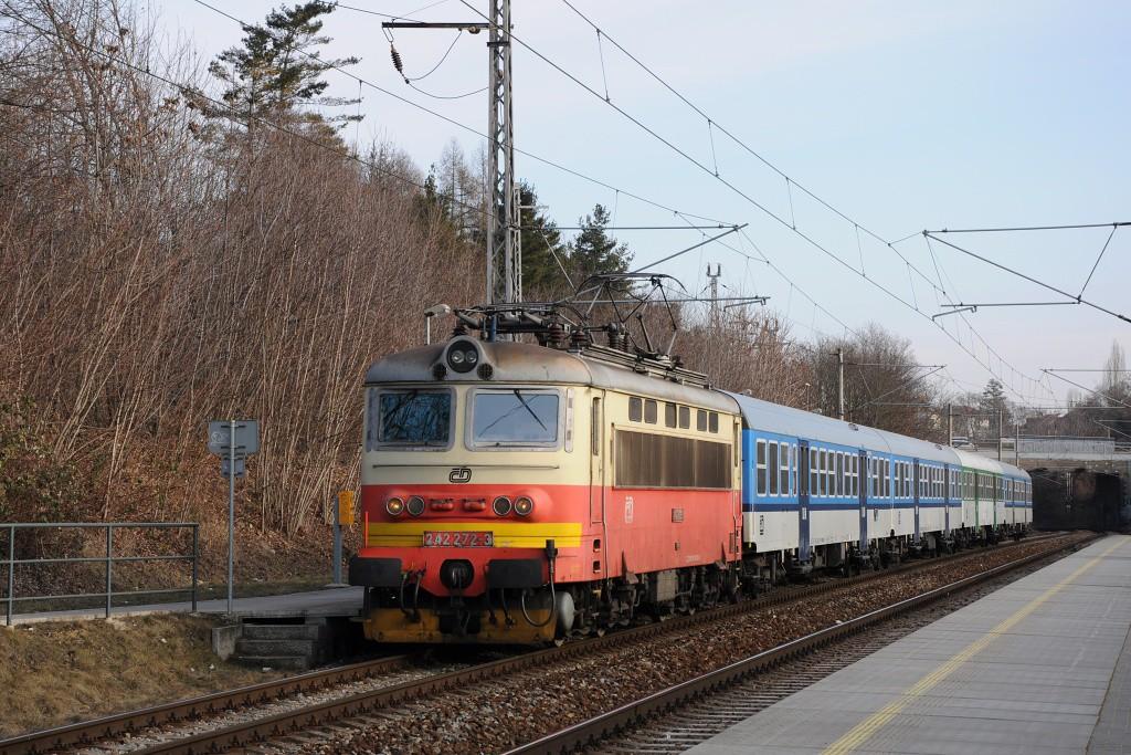Fotogalerie » Škoda 242 242 272-3 | Brno | Lesná | Brno-Lesná
