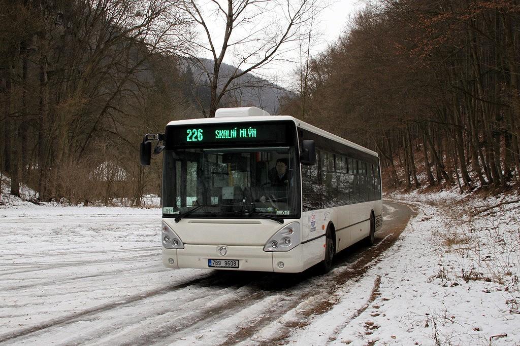 Fotogalerie » Irisbus Citelis 12M 7B9 9608 | Blansko | Skalní mlýn