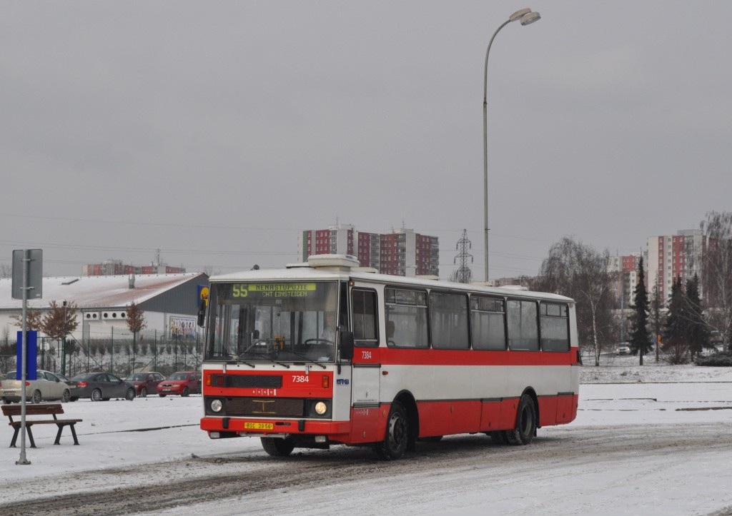Fotogalerie » Karosa B732.1654.3 BSC 39-56 7384 | Brno | Líšeň | Trnkova | Zetor, smyčka