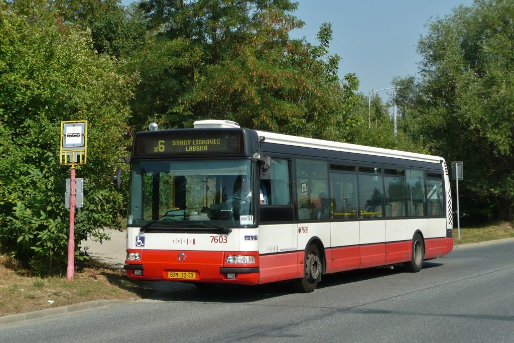 Fotogalerie » Irisbus Citybus 12M 2071.20 BZM 72-33 7603 | Brno | Starý Lískovec | Labská | Pod Nemocnicí