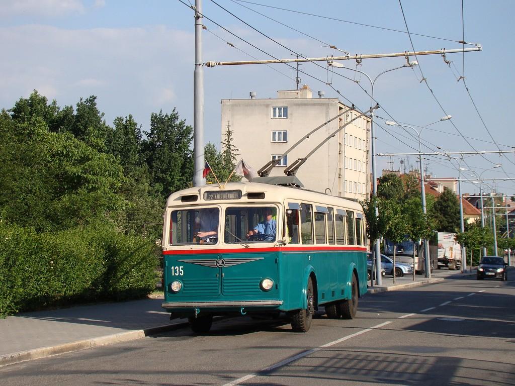 Fotogalerie » Škoda 6Tr2 135 | Brno | Královo Pole | Srbská | Srbská