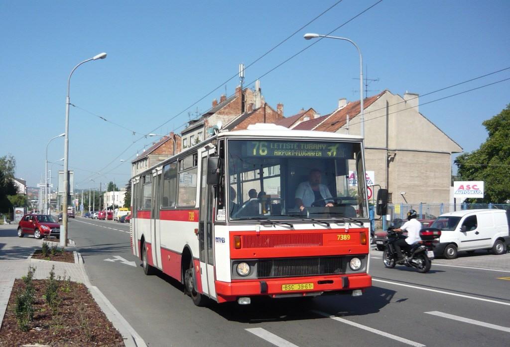 Fotogalerie » Karosa B732.1654.3 BSC 39-61 7389   Brno   Černovice   Olomoucká