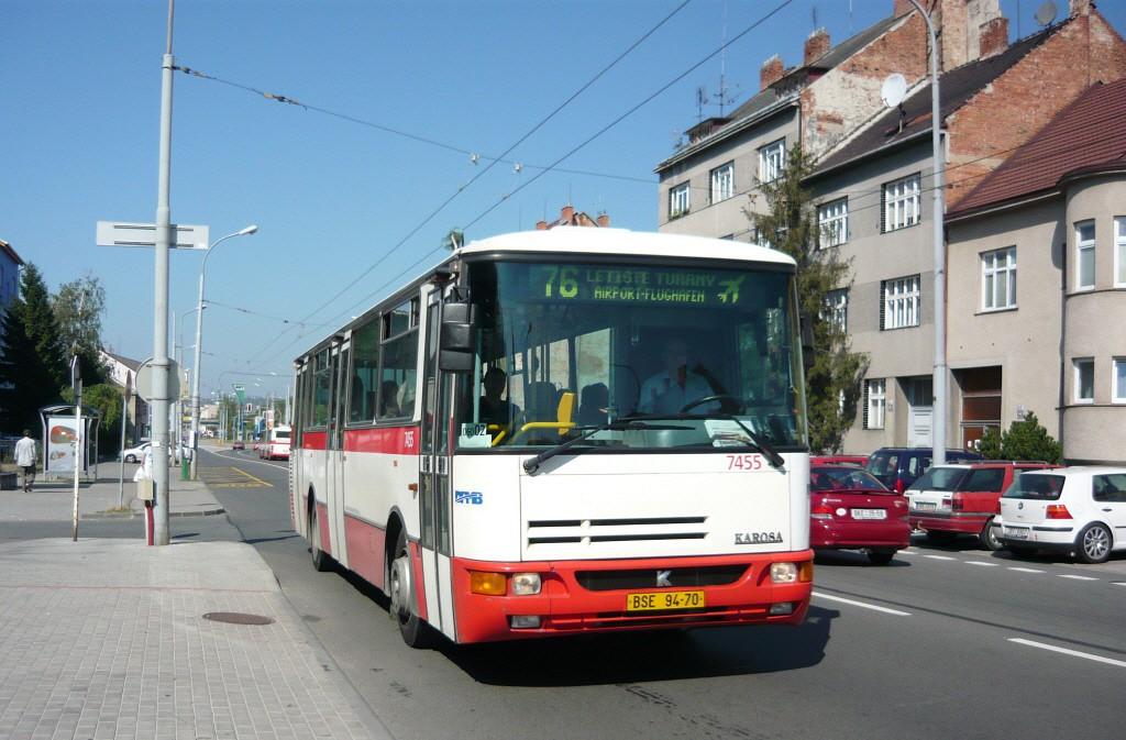 Fotogalerie » Karosa B931E.1707 BSE 94-70 7455 | Brno | Černovice | Olomoucká | Spáčilova