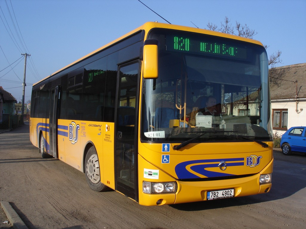 Fotogalerie » Irisbus Crossway LE 12M 7B2 4902 | Hrádek | kulturní dům