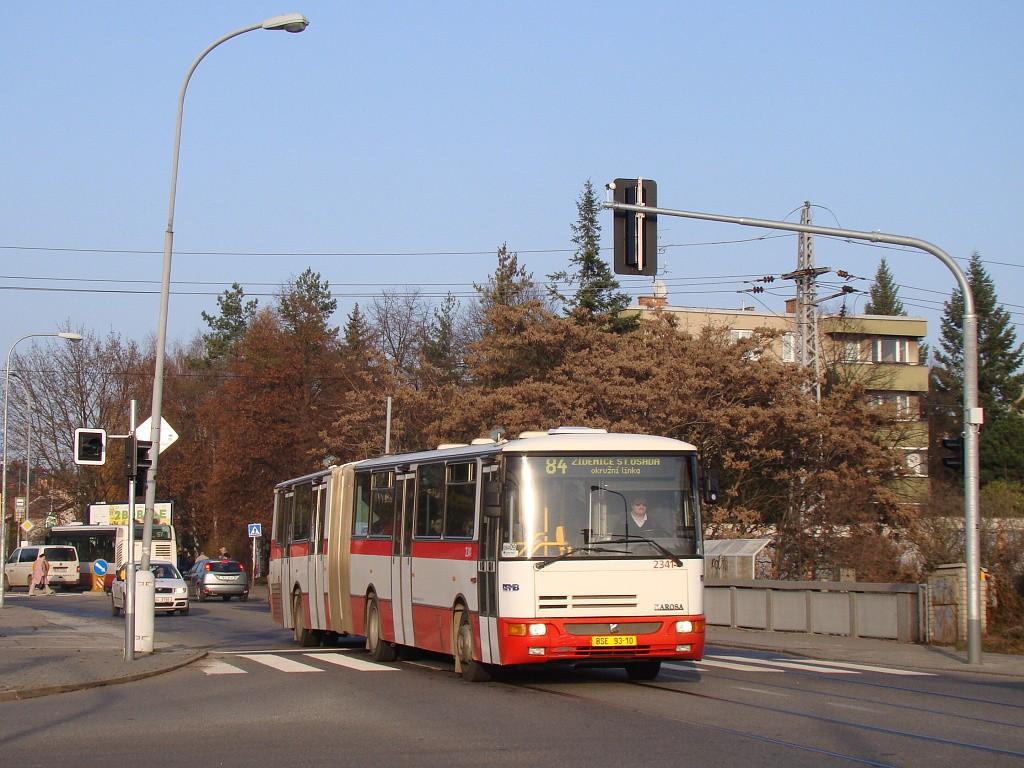 Fotogalerie » Karosa B941E.1962 BSE 93-10 2341 | Brno | Černá Pole | Merhautova