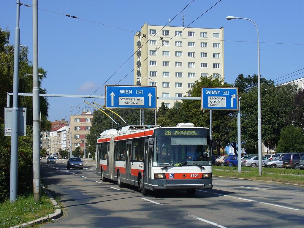 Fotogalerie » Škoda 22Tr 3604   Brno   Černá Pole   Provazníkova