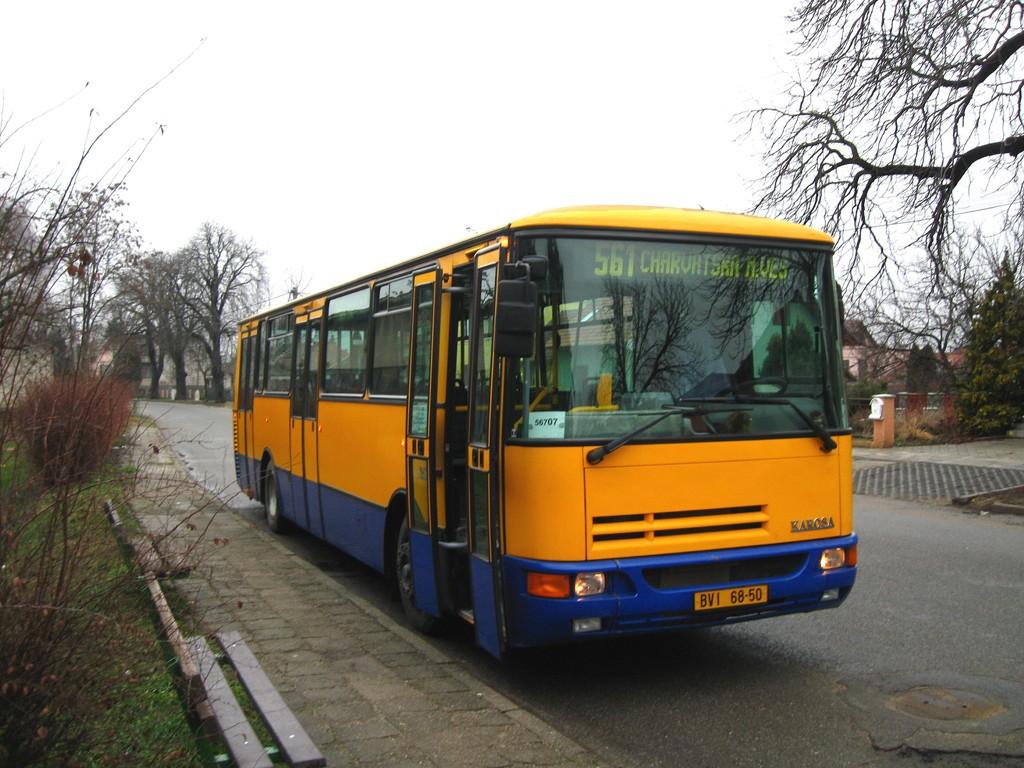 Fotogalerie » Karosa B932E BVI 68-50 | Břeclav | Lanžhotská | Městský hřbitov