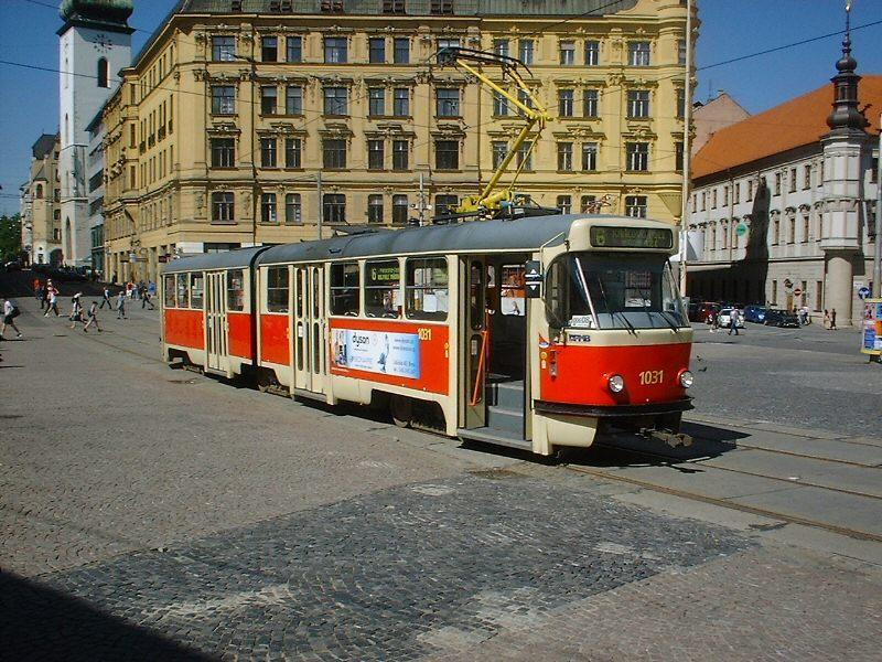 Fotogalerie » ČKD Tatra K2P 1031 | Brno | střed | náměstí Svobody | Náměstí Svobody