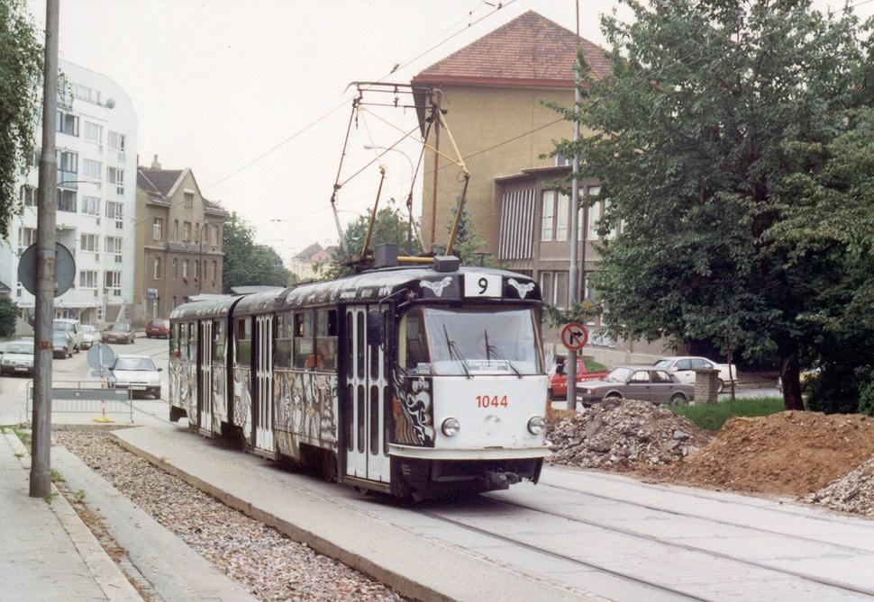 Fotogalerie » ČKD Tatra K2T 1044 | Brno | Merhautova