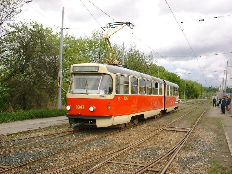 Fotogalerie » ČKD Tatra K2P 1047 | Brno | Komín