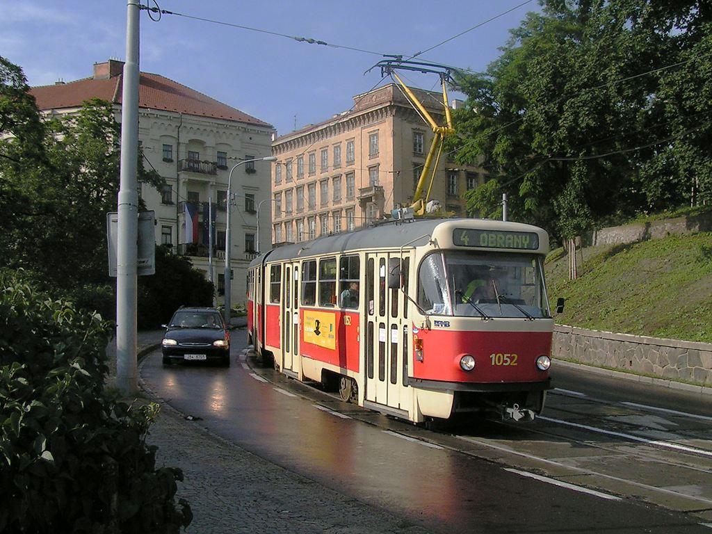 Fotogalerie » ČKD Tatra K2P 1052 | Brno | střed | Husova