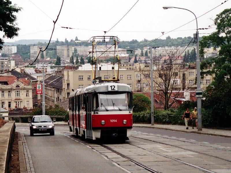 Fotogalerie » ČKD Tatra K2 1094   Brno   střed   Husova
