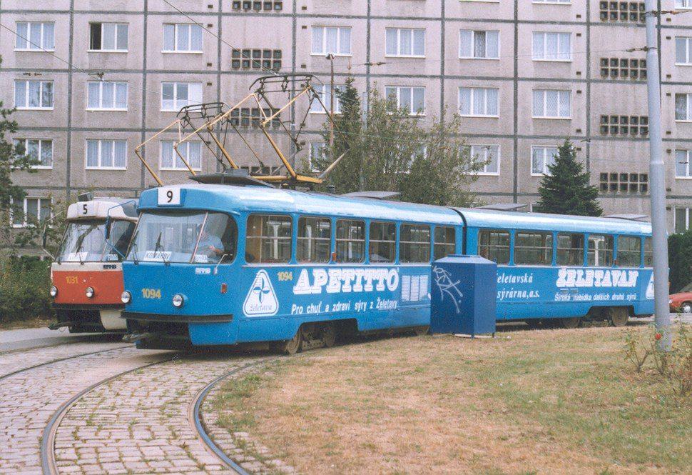 Fotogalerie » ČKD Tatra K2 1094 | Brno | Štefánikova čtvrť | Štefánikova čtvrť, smyčka