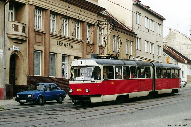 Fotogalerie » ČKD Tatra K2 1116 | Brno | Žabovřesky | Minská