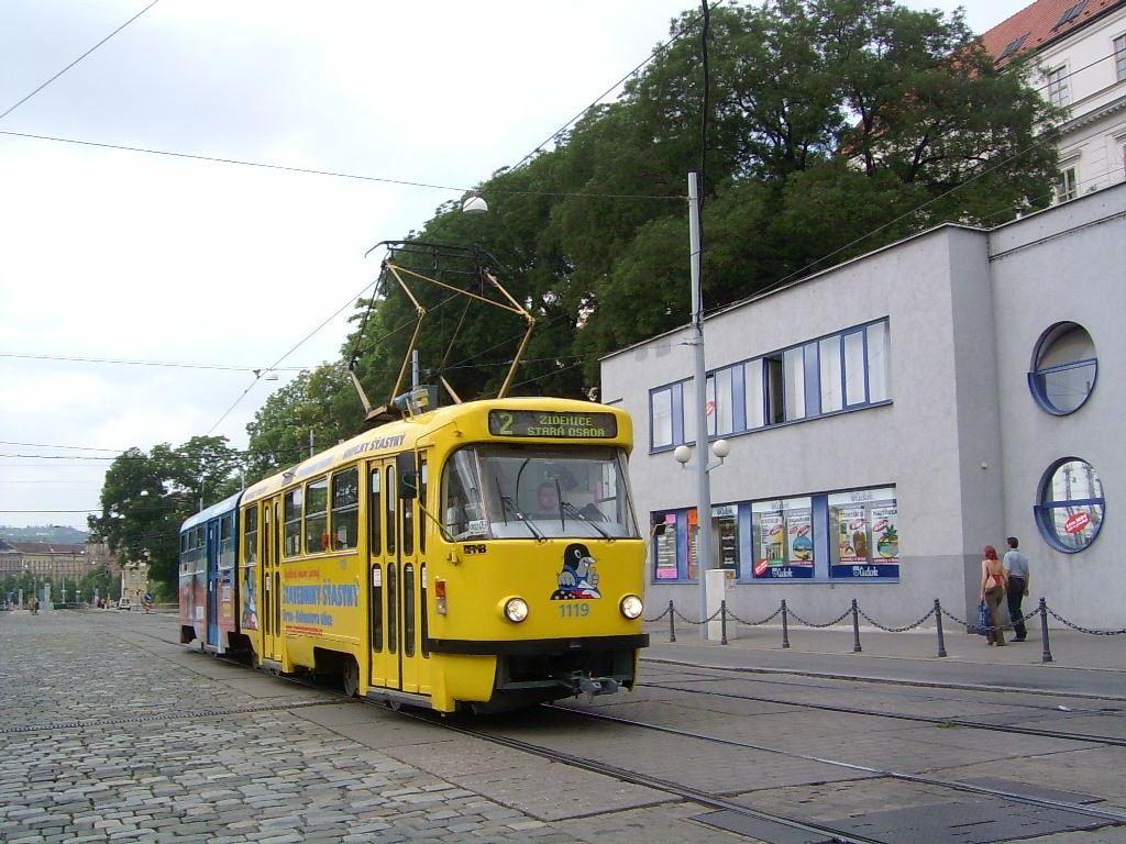 Fotogalerie » ČKD Tatra K2P 1119 | Brno | střed | Benešova