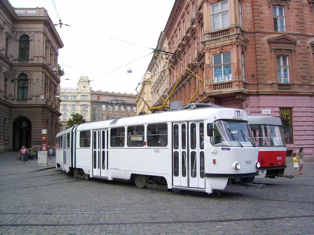 Fotogalerie » ČKD Tatra K2 1123 | Brno | střed | Česká | Česká