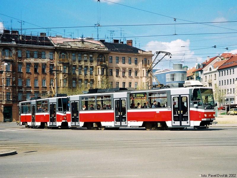 Fotogalerie » ČKD DS T6A5 1205 | ČKD DS T6A5 1206 | Brno | střed | Nové sady