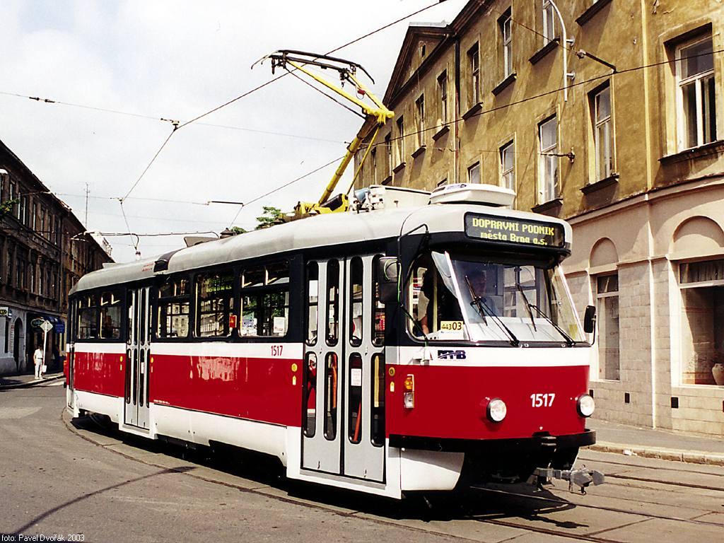 Fotogalerie » Pragoimex T3R.PV 1517 | Brno | Staré Brno | Václavská