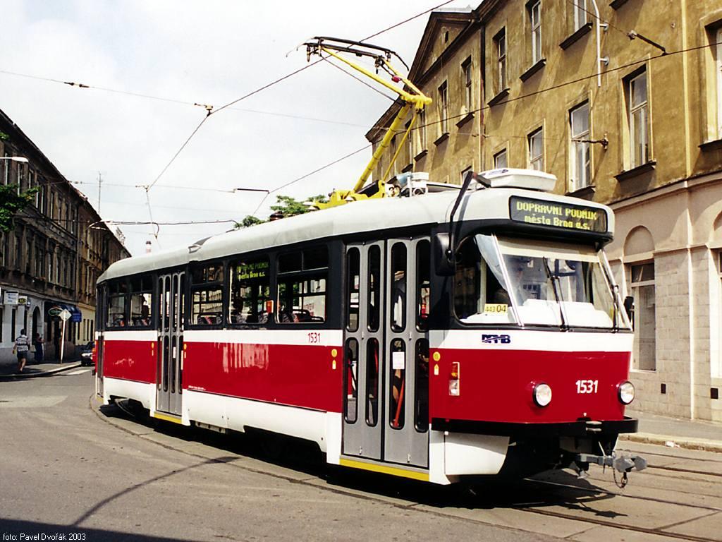 Fotogalerie » Pragoimex T3R.EV 1531 | Brno | Staré Brno | Václavská
