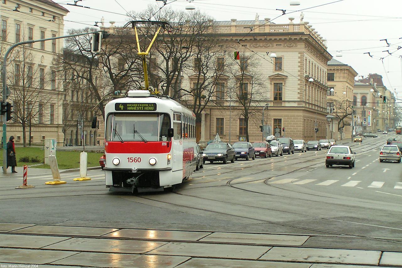 Fotogalerie » Pragoimex T3R.EV 1560 | Brno | střed | Komenského náměstí