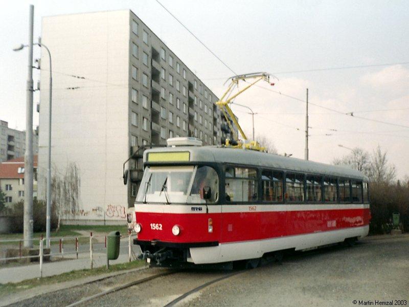 Fotogalerie » Pragoimex T3R.EV 1562 | Brno | Židenice | Stará Osada, smyčka