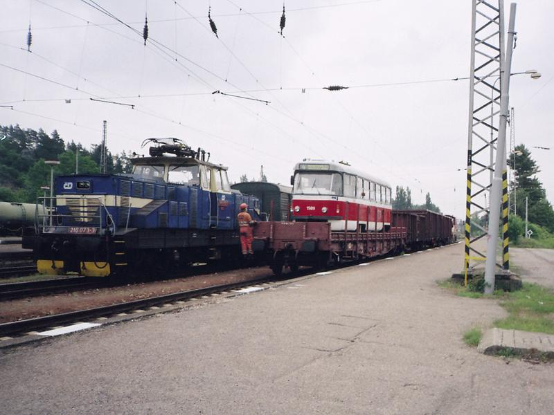 Fotogalerie » ČKD Tatra T3P 1589 | Brno | Vlečka DP v Králově Poli