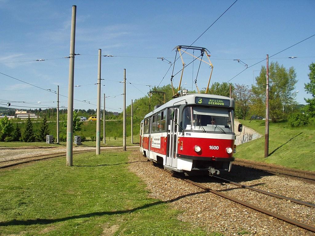 Fotogalerie » ČKD Tatra T3M 1600 | ČKD Tatra T3M 1601 | Brno | Bystrc