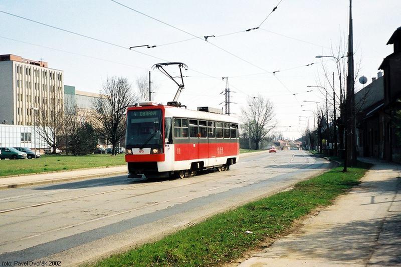 Fotogalerie » ČKD DS T3R 1615 | Brno | Maloměřice | Obřanská