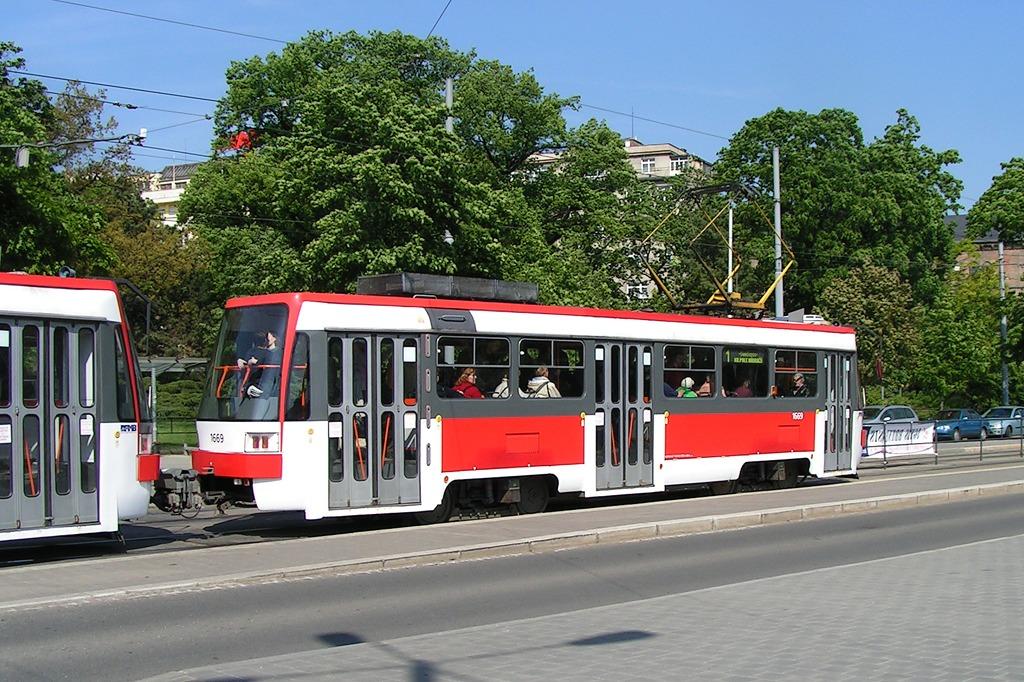 Fotogalerie » ČKD DS T3RF 1669 | Brno | střed | Moravské náměstí