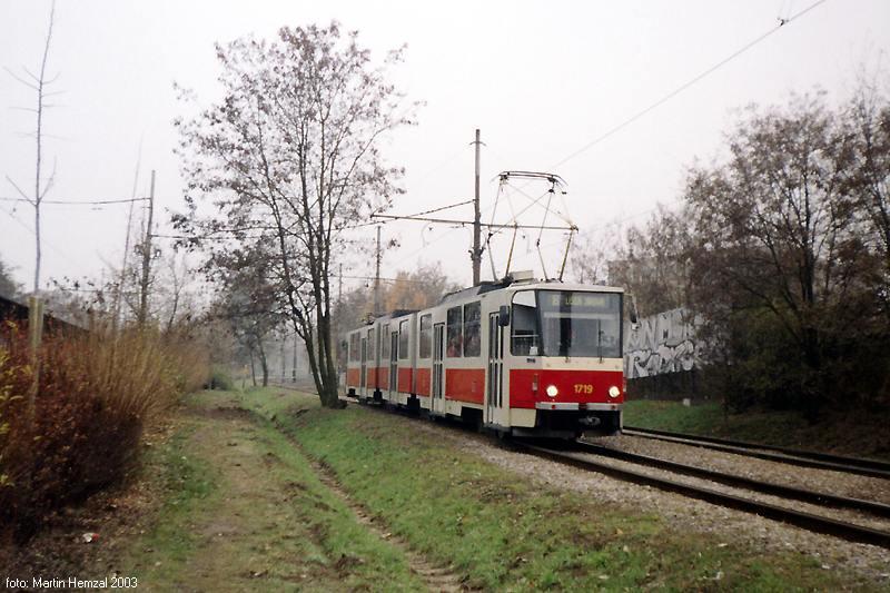 Fotogalerie » ČKD Tatra KT8D5 1719 | Brno | Štýřice