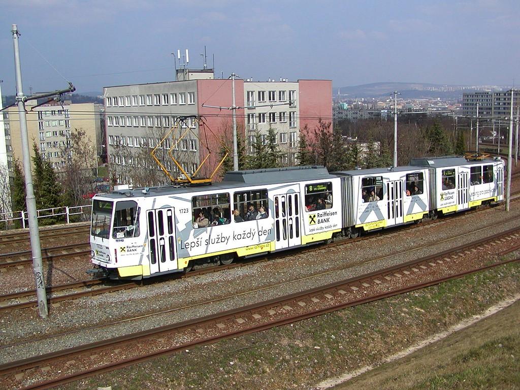 Fotogalerie » ČKD Tatra KT8D5 1723 | Brno