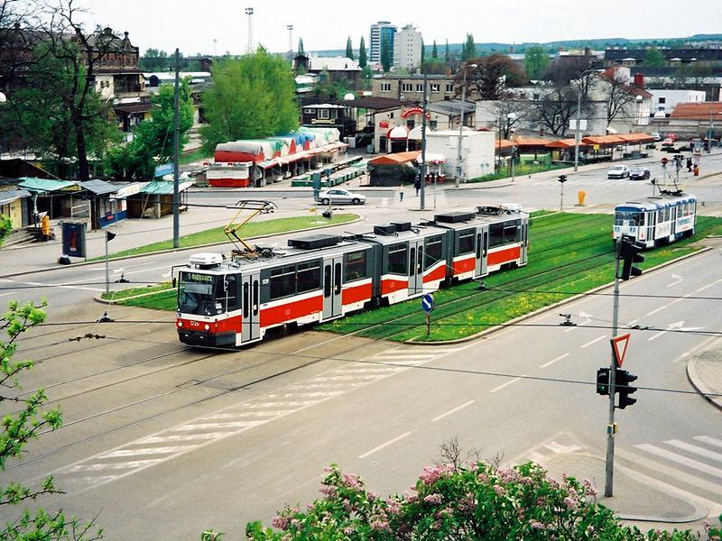 Fotogalerie » ČKD Tatra KT8D5N 1729 | Brno | střed | Nové sady