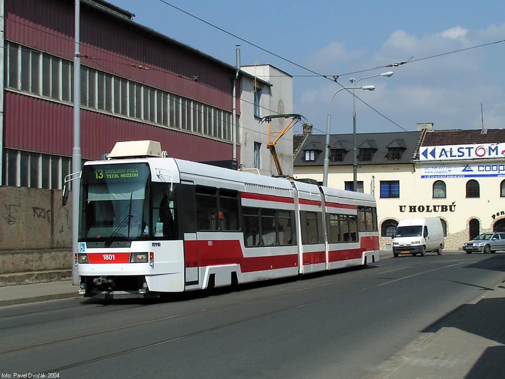 Fotogalerie » ČKD DS RT6N1 1801 | Brno | Životského