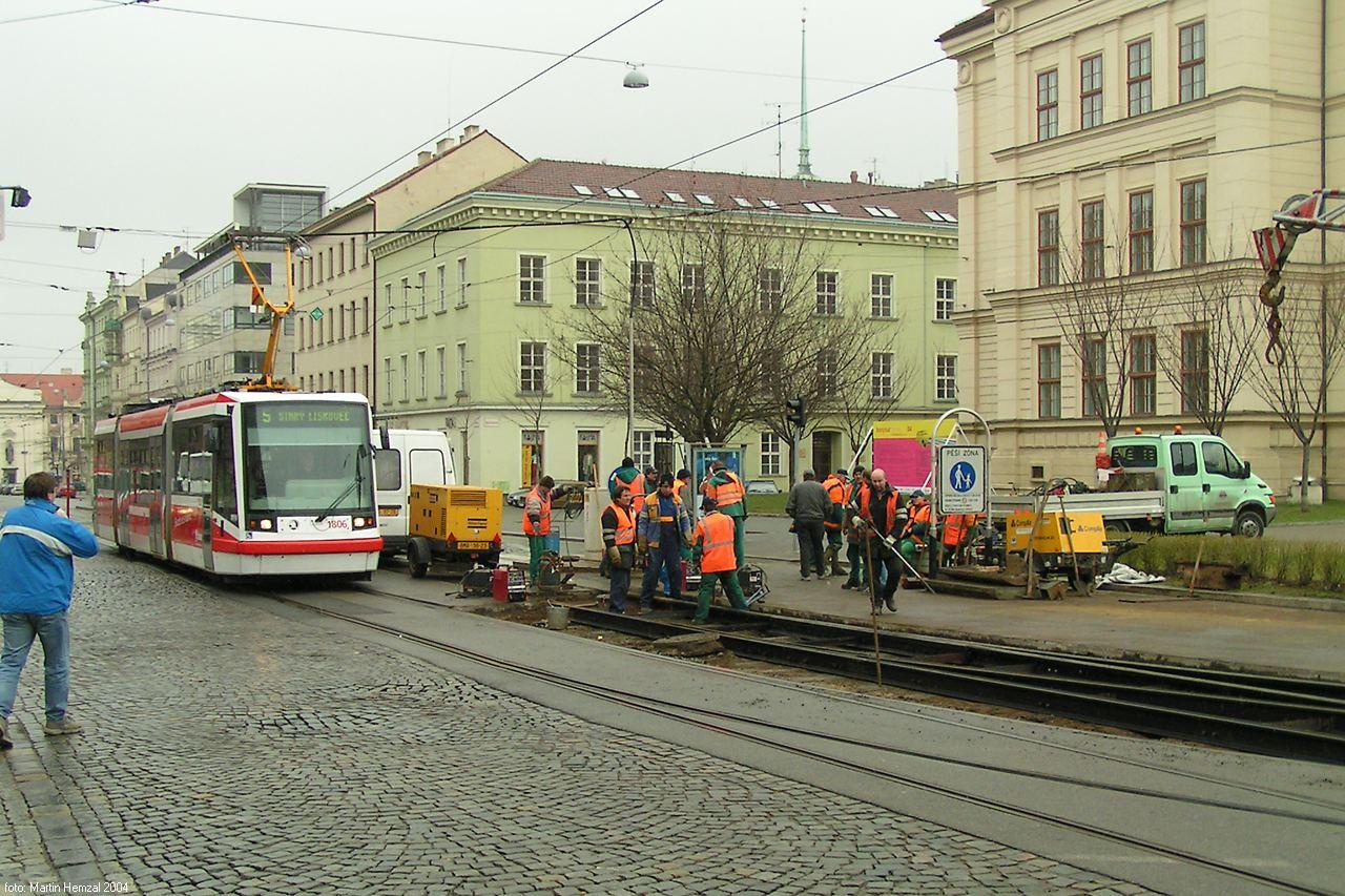 Fotogalerie » Škoda 03T6 1806 | Brno | střed | Joštova